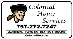 Colonial Home Services Logo